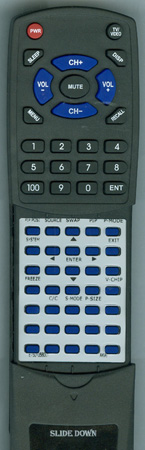 AKAI E7501-056001 KC01A1 Custom Built Redi Remote