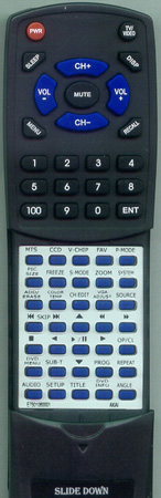 AKAI E7501-060001 Custom Built Redi Remote