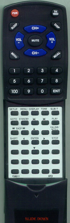 AKAI PD650111 PRM200 Custom Built Redi Remote