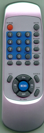 AKAI 33121-10003 RC-100A Genuine  OEM original Remote