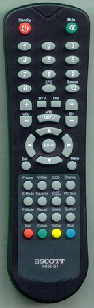 AKAI E7501-056105 KC01-B1 Genuine  OEM original Remote
