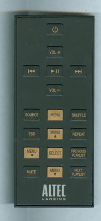 ALTEC LANSING A14175 Genuine  OEM original Remote
