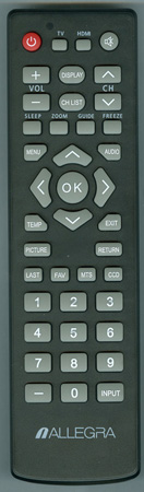 ALLEGRA ALG-32LC1A Genuine  OEM original Remote