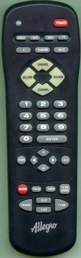 ALLEGRO 124-00212-13 MBC4020 Refurbished Genuine OEM Remote