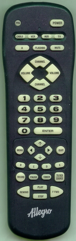 ALLEGRO 124-00212-29 MBC4035 Refurbished Genuine OEM Remote