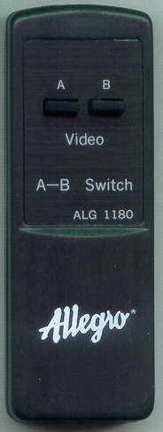ALLEGRO ALG1180 ALG1180 Refurbished Genuine OEM Original Remote
