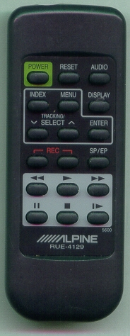 ALPINE RUE-4129-P RUE4129 Refurbished Genuine OEM Original Remote