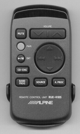 ALPINE RUE-4185-P Genuine  OEM original Remote