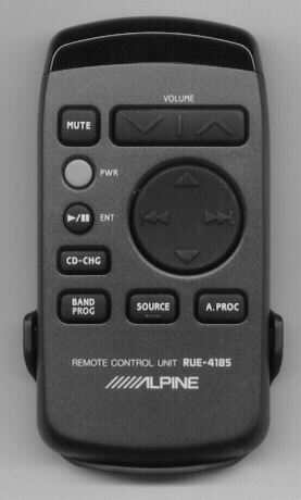ALPINE RUE-4185 RUE4185 Refurbished Genuine OEM Original Remote