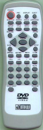 AMW V101 Genuine  OEM original Remote