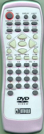 AMW V120 Genuine  OEM original Remote