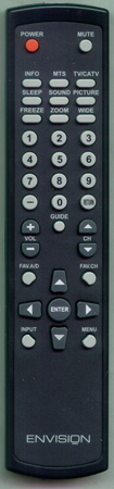 AOC 2419200154P Genuine  OEM original Remote