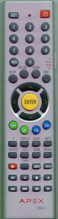 APEX 8201802141L CK5GC1 Genuine  OEM original Remote