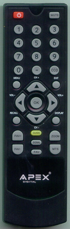 APEX DT250RM Genuine  OEM original Remote