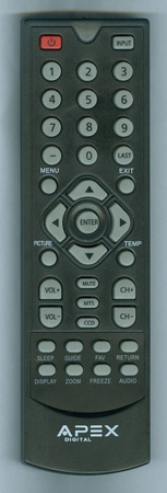 APEX LD50RM Genuine OEM original Remote