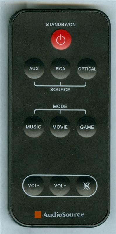 AUDIO SOURCE S3D40 Genuine OEM original Remote