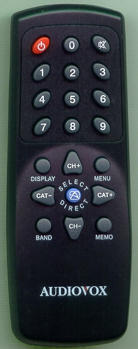 AUDIOVOX 1363539 Refurbished Genuine OEM Original Remote