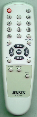 AUDIOVOX 301-ATS2030-26A-J RCA260C Genuine  OEM original Remote