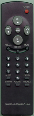 AUDIOVOX 48B3225B03 R25B03 Genuine  OEM original Remote