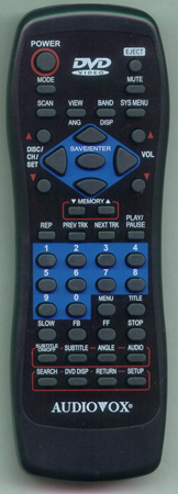 AUDIOVOX RC105301 Genuine  OEM original Remote