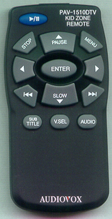AUDIOVOX Y437B1 PAV1510DTV Genuine  OEM original Remote