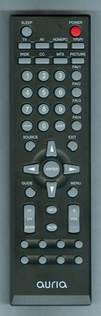 AURIA EQ1987 Genuine  OEM original Remote