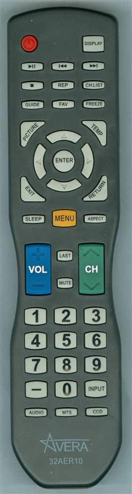 AVERA 32AER10 Genuine OEM Original Remote