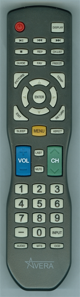 AVERA 49EQX10 Genuine OEM Original Remote