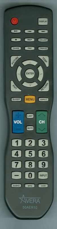 AVERA 50AER10 Refurbished Genuine OEM Remote Control