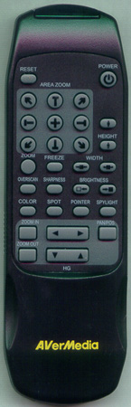 AVERMEDIA AVER300 Genuine OEM original Remote