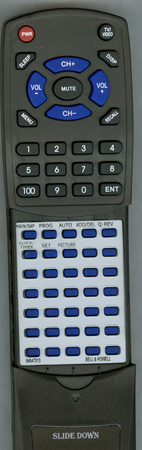 BELL & HOWELL 64547313 Custom Built Redi Remote