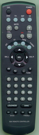 B & K 12772 Genuine  OEM original Remote
