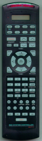 B & K SR10 AV71 Genuine  OEM original Remote