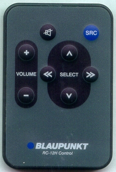 BLAUPUNKT RC-12H RC12H Refurbished Genuine OEM Original Remote