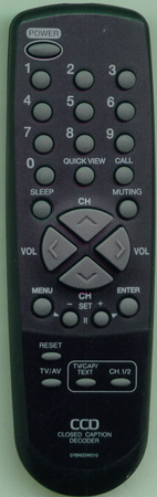 BROKSONIC 076N0DW010 076N0DW010 Genuine  OEM original Remote
