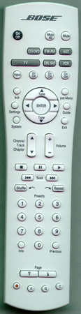 BOSE 270606-001 RC18T127 Genuine  OEM original Remote