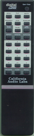 CALIFORNIA AUDIO LAB 01REMOTE-ICON Genuine  OEM original Remote