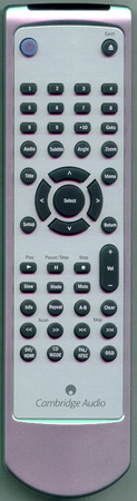 CAMBRIDGE AUDIO DVD89 RCDVD89 Genuine OEM original Remote
