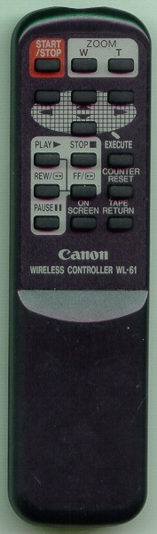 CANON DY1-7767-000 WL61 Refurbished Genuine OEM Original Remote
