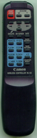 CANON DY1-7825-000 WL65 Genuine OEM original Remote