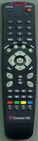 CAPTAIN 8000HD Genuine OEM original Remote