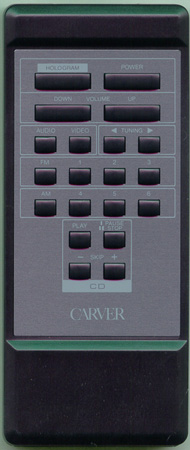 CARVER AVR100 Genuine  OEM original Remote