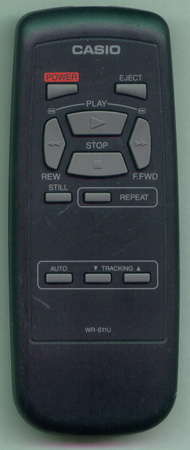 CASIO WR-611U WR611U Genuine  OEM original Remote