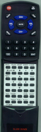 CINEVISION DVP10650RM Custom Built Redi Remote