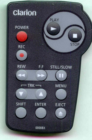 CLARION RCB9600 RCB9600 Genuine OEM original Remote