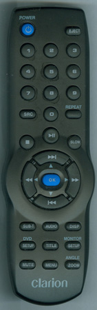CLARION RCBD102 Genuine  OEM original Remote
