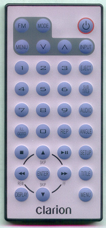 CLARION RCBD74 Genuine  OEM original Remote