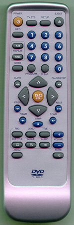 CLASSIC DVD50S Genuine  OEM original Remote
