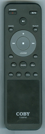 COBY CSMP90 CSMP90 Genuine  OEM original Remote
