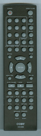 COBY DVD-988 DVD988 Genuine  OEM original Remote